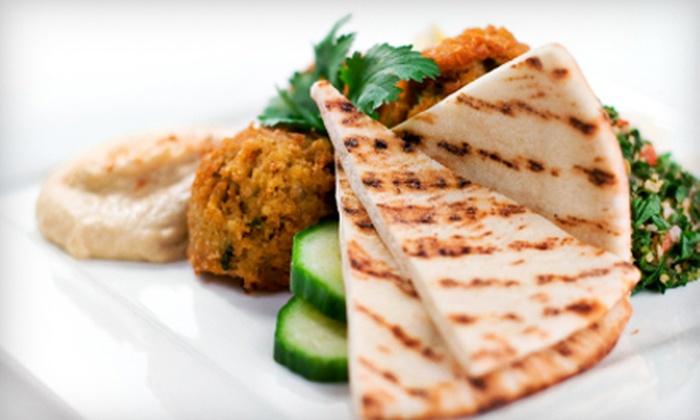 Haifa Falafel - Carpenter East: $10 for $20 Worth of Mediterranean Cuisine at Haifa Falafel
