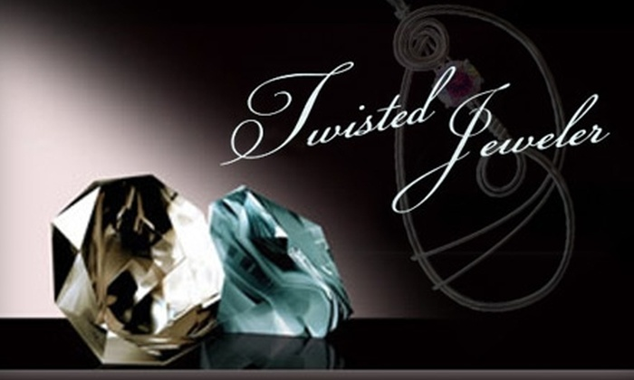 Twisted Jeweler - Downtown Fayetteville: $10 for a Jewelry-Making Class at Twisted Jeweler ($25 Value)