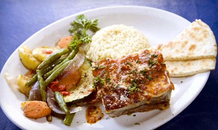 Tasso's Greek Restaurant - Waldo Homes: $10 for $20 Worth of Greek Cuisine and Drinks at Tasso's Greek Restaurant