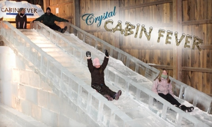 Crystal Cabin Fever - Paupack: $3 for a Child Ticket ($6 Value) or $5 for an Adult Ticket ($10 Value) at Crystal Cabin Fever in Lakeville
