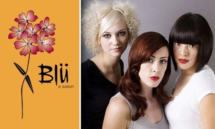 Blü a salon - Sunnyside: $50 for $110 Worth of Hair Services at Blü a Salon