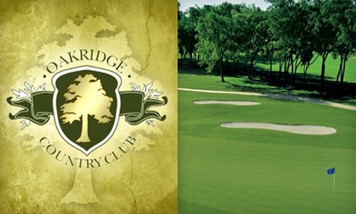 Oakridge Country Club - Oakridge: $25 for a Round of Golf, Cart Rental, and Bucket of Range Balls at Oakridge Country Club