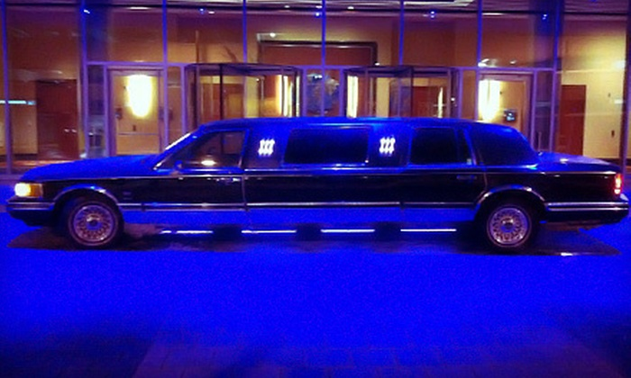 Celebrity Limo MI - Heartside-Downtown: Three- or Four-Hour Executive Limo Rental for Up to Six from Celebrity Limo MI (Up to 57% Off)