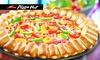 Pizza Hut - Mehrere Standorte: Wertgutschein in Höhe von 12 € bis 36 € für das Pizza Hut Sortiment in Bremen, Hamburg, Kiel, Rostock oder Osnabrück
