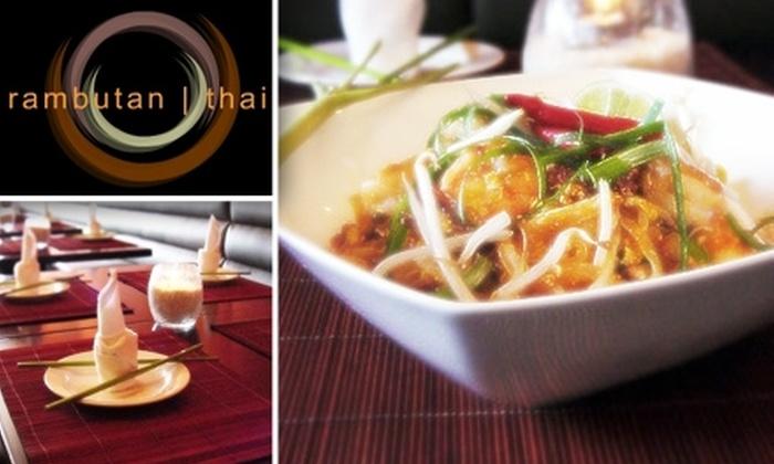 Rambutan  - Los Angeles: $20 for $40 Worth of Gourmet Thai Cuisine at Rambutan