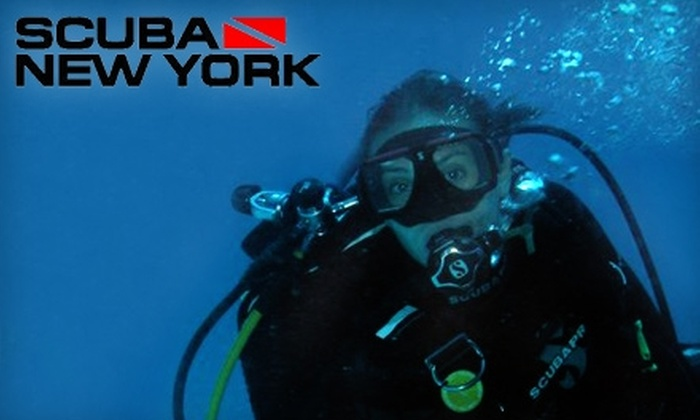 Scuba New York - Colonial Heights: $25 for a 90-Minute Discover Scuba Class at Scuba New York ($50 Value)