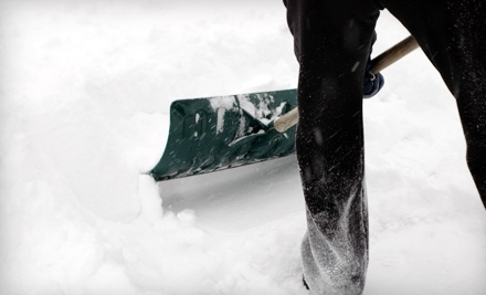 1-Time Residential Snow-Removal Service (a $35 value) - Everclean Company in
