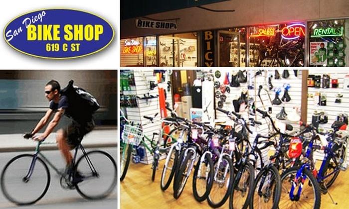 San Diego Bike Shop - Core-Columbia: Full Bike Tune-Up (Wash, Lube, True, Tires, Adjustments) at San Diego Bike Shop
