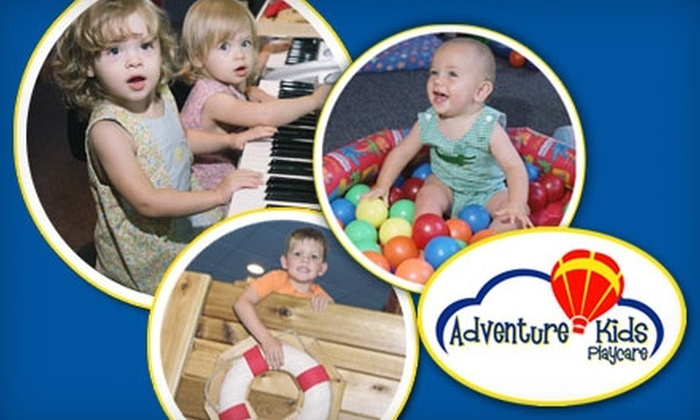 Adventure Kids Playcare - Newport: $29 for Up to 10 Hours Worth of Childcare from Adventure Kids Playcare ($130 Value)