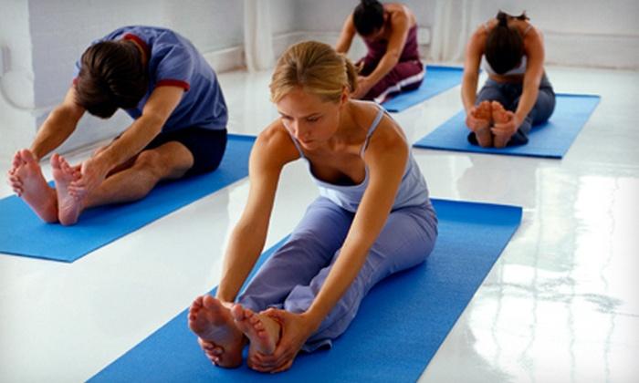 Ava Fitness Spa - Chowchilla: $39 for 10 Pi-Yo or Yoga Classes at Ava Fitness Spa in Chowchilla ($80 Value)
