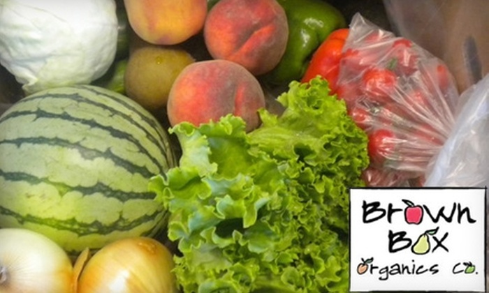 Brown Box Organics - Boise: $20 for $40 Worth of a Home-Delivered Grocery Variety Box and More from Brown Box Organics