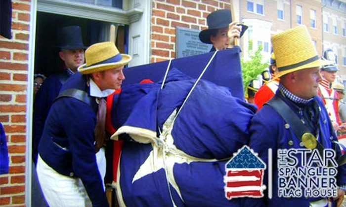 Star-Spangled Banner Flag House - Jonestown: $20 for a One-Year Family Membership to the Star-Spangled Banner Flag House