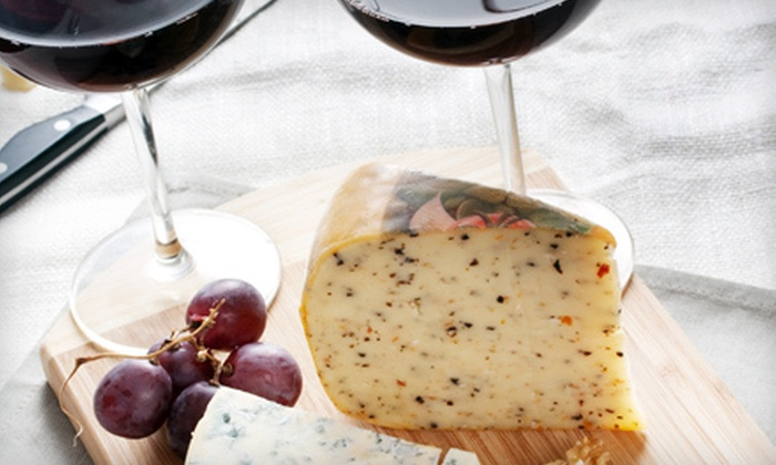The Wine and Cheese Gallery - Gainesville: $50 for a Two-Class Wine Course for Two at The Wine and Cheese Gallery ($100 Value)