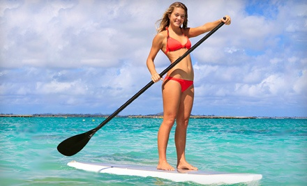 Semi-Private Scenic Paddleboard or Kayak Tour for 2 (an $80 value) - Three Brothers Boards in Daytona Beach