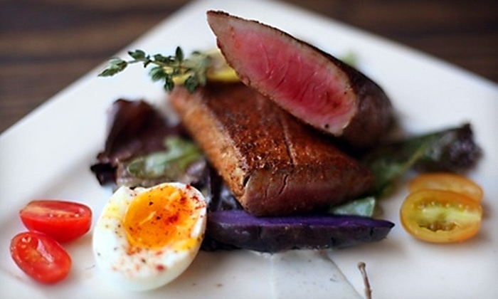 Roux - Montgomery: $10 for $20 Worth of Contemporary Creole Cuisine and Drinks at Roux