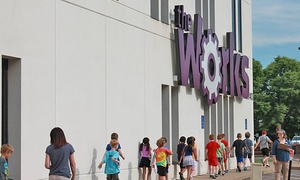 The Works Museum: Admission for 2 or 4, or Private Birthday Party for Up to 10 Kids at The Works Museum (Up to 50% Off)