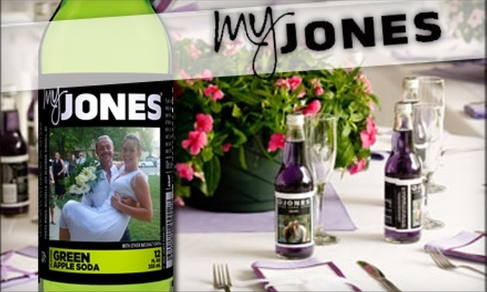 Jones Soda Co.: $15 for 12-Pack of Soda with Personalized Labels ($30 Value) or $8 for 6-Pack of Soda with Personalized Labels ($17 Value) at Jones Soda Co.