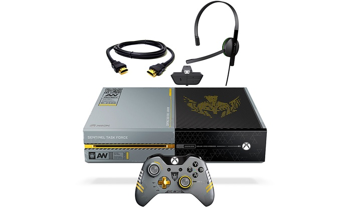 Limited Edition 1T Call of Duty Xbox One: Microsoft Xbox One 1T Limited Edition Call of Duty Bundle (Refurbished)