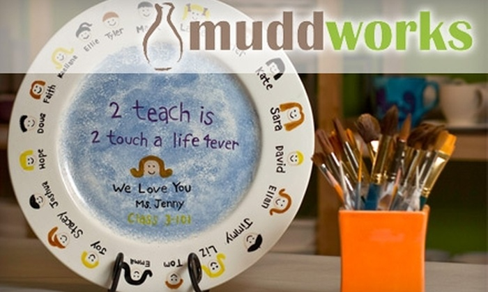 muddworks - Great Neck Plaza: $15 for $30 Worth of Paint-Your-Own Pottery at muddworks in Great Neck