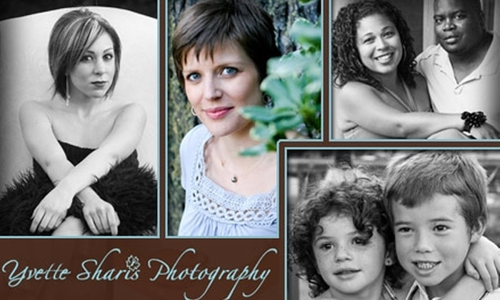 Yvette Sharis Photography - Los Angeles: $59 for a Photo Session and Digital Images on CD from Yvette Sharis Photography ($275 Value)