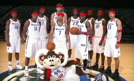 Reno Bighorns vs. Bakersfield Jam on 3/3 at 7PM: Center Seating, Sections 116, 117, 104, or 105 - Reno Bighorns in Reno