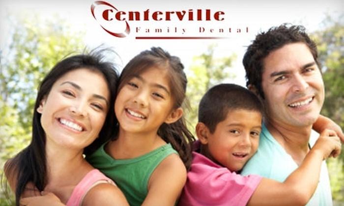 Centerville Family Dental - Washington: $129 for a ZOOM! Teeth-Whitening Treatment at Centerville Family Dental ($349 Value)