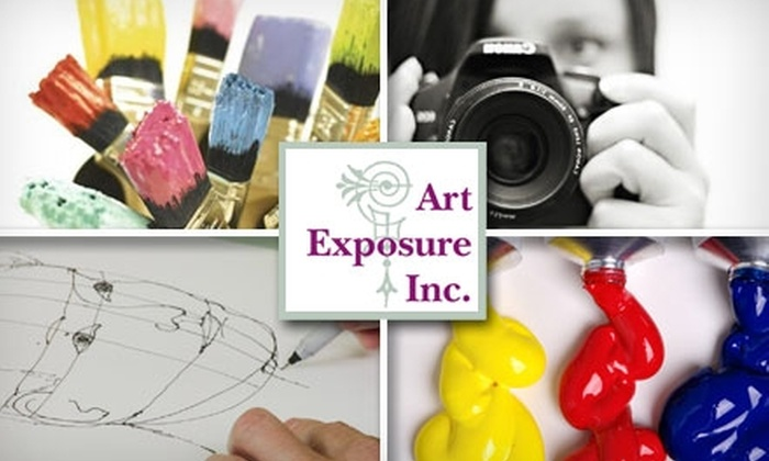 Art Exposure - Multiple Locations: $45 for One Five-Week Art Class for Adults at Art Exposure