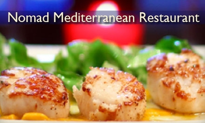 Nomad - East Village: $15 for $30 Worth of Mediterranean Fare at Nomad