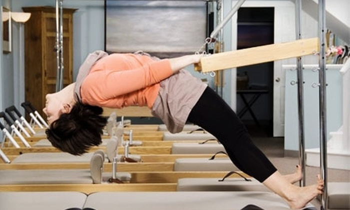 The Pilates and Yoga Center of St. Louis - Ladue: $39 for Three Drop-in Pilates Classes at The Pilates and Yoga Center of St. Louis in Ladue ($105 Value)