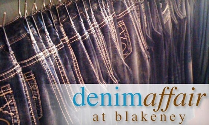 Denim Affair - Provincetowne: $35 for $75 Worth of Designer Denim at Denim Affair