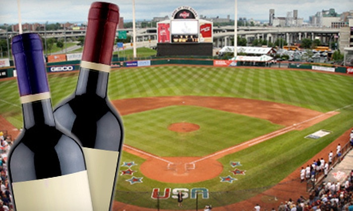 Buffalo Bisons - South Ellicott: Wine Tasting for Two or Four from Buffalo Bisons at Coca-Cola Field on Friday, June 8 (Half Off)
