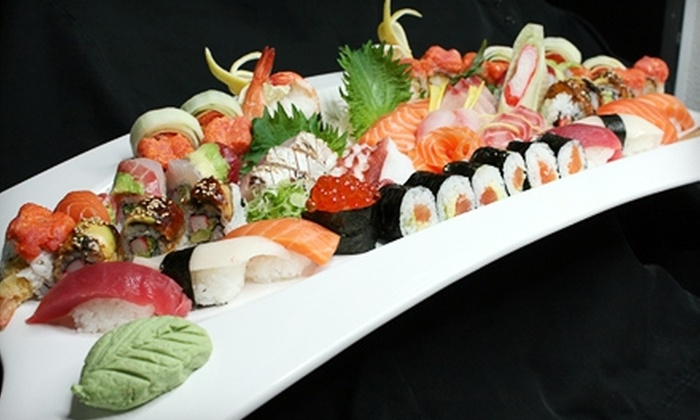 Arirang Hibachi Steakhouse and Sushi Bar - Mountainside: $15 for $30 Worth of Japanese Cuisine and Drinks at Arirang Hibachi Steakhouse and Sushi Bar in Mountainside