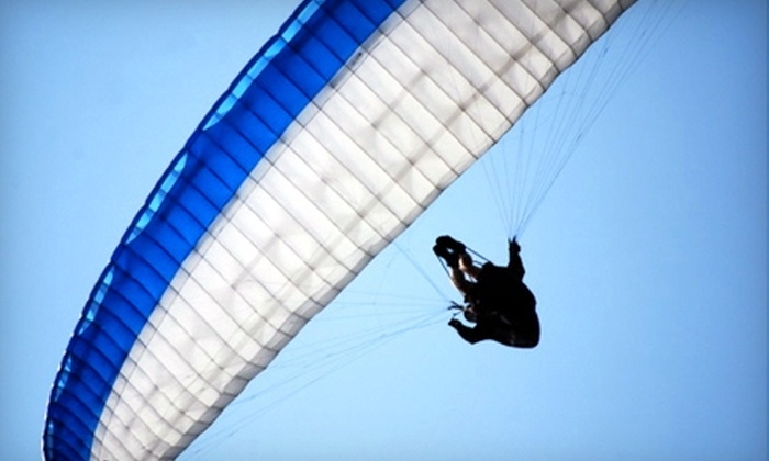 Vancouver Island Paragliding - Victoria: $99 for a Tandem Paragliding Flight for One from Vancouver Island Paragliding ($185 Value)