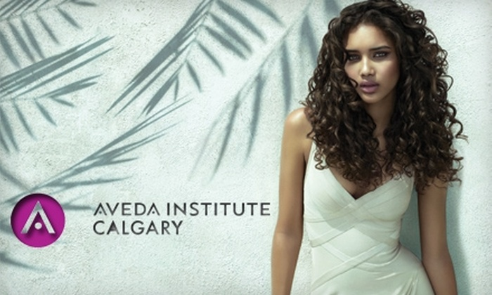Aveda Institute Calgary - Downtown: $25 for $50 Worth of Hair Services at Aveda Institute Calgary