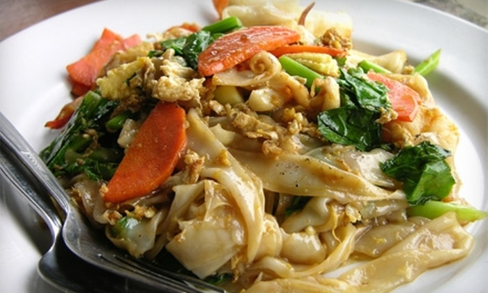 Pan Thai Restaurant - Fenway/Kenmore: $15 for $30 Worth of Thai Fare at Pan Thai Restaurant
