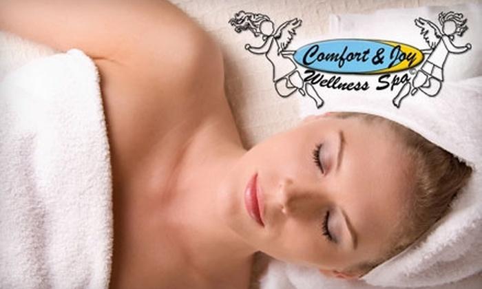 Comfort & Joy Wellness Spa - Fairfax: Massage or Massage and Body Polish at Comfort & Joy Wellness Spa. Choose Between Two Options.