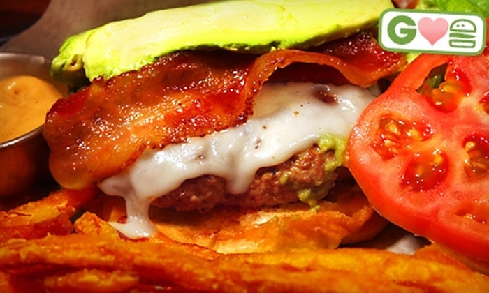 Basement Burger Bar - Downtown Farmington: $10 for $20 Worth of Gourmet Burgers at Basement Burger Bar in Farmington