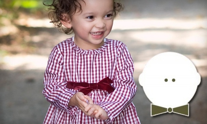 The Dapper Baby: $25 for $50 Worth of Clothing and Apparel from The Dapper Baby