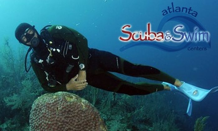 Atlanta Scuba and Swim Centers - Marietta: $20 for a Discover Scuba Package at Atlanta Scuba and Swim Centers ($50 Value)