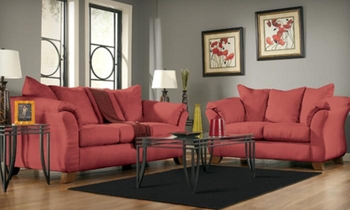 Ashley Furniture HomeStore - Evansville: $25 for $100 Toward Home Furnishings at Ashley Furniture HomeStore