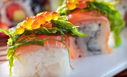 $35 Groupon for Dinner and Drinks - Sushi Rock Grill in St. Petersburg