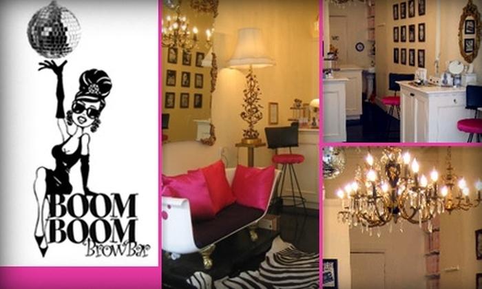 Boom Boom Brow Bar - West Village: $50 for Four Glycolic Peel Treatments at Boom Boom Brow Bar