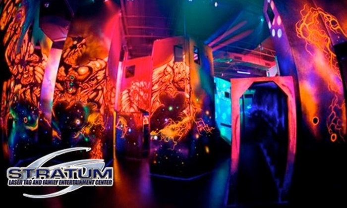 Stratum Lasertag - Mesa: $5 for $10 Gift Certificate at Stratum Laser Tag