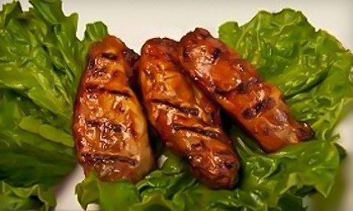 AJ's Turkey Grill - Stockbridge: $10 for $20 Worth of Healthy, Turkey-Based Fare and Drinks at AJ's Turkey Grill in Stockbridge