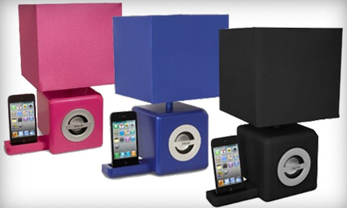 iHome Speaker Dock and LED Lamp: $45 for an iHome Speaker iPod Dock and LED Ambient Lamp ($107.95 Value). Three Colors Available.