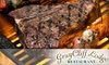 Gray Cliff Lodge Restaurant - Ogden Valley: $18 for $40 Worth of Prime Rib, Steaks, and More at Gray Cliff Lodge Restaurant