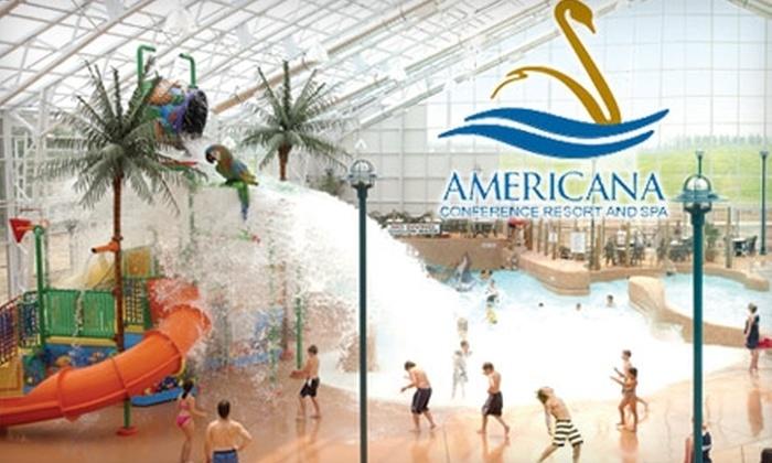 Americana Conference Resort and Spa - Niagara Falls: $12 for $25 Toward Waterpark Admission, Hotel Accommodations, and Dining at Americana Conference Resort and Spa in Niagara Falls