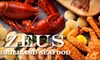 Up to 53% Off at Zeus Grill and Seafood