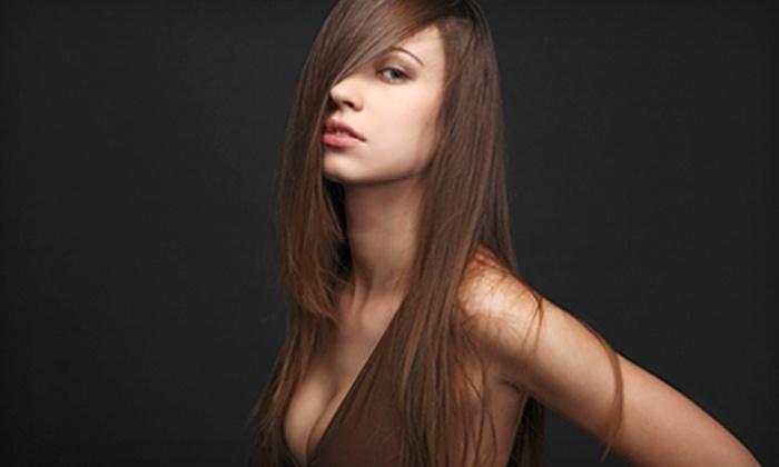 Sin Hair Studio - South End: Haircut, Haircut and Color, or Keratin Treatment at Sin Hair Studio