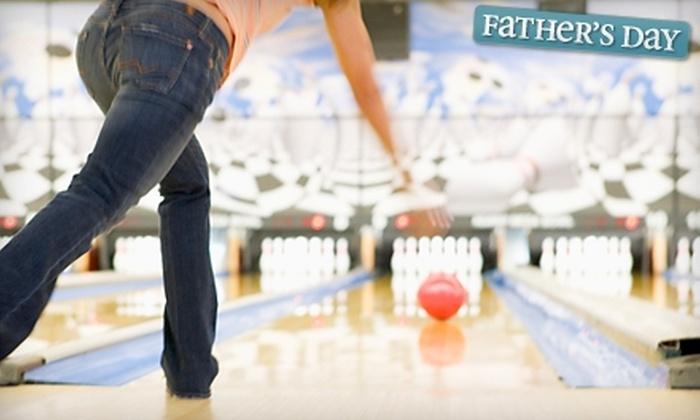 Splitsville Entertainment - Hamilton: $19 for Bowling and Bumper Cars for Six at Splitsville Entertainment in Hamilton (Up to $132 Value)